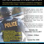 Investigator's Course (Philadelphia, PA) ***REGISTRATION CLOSED***