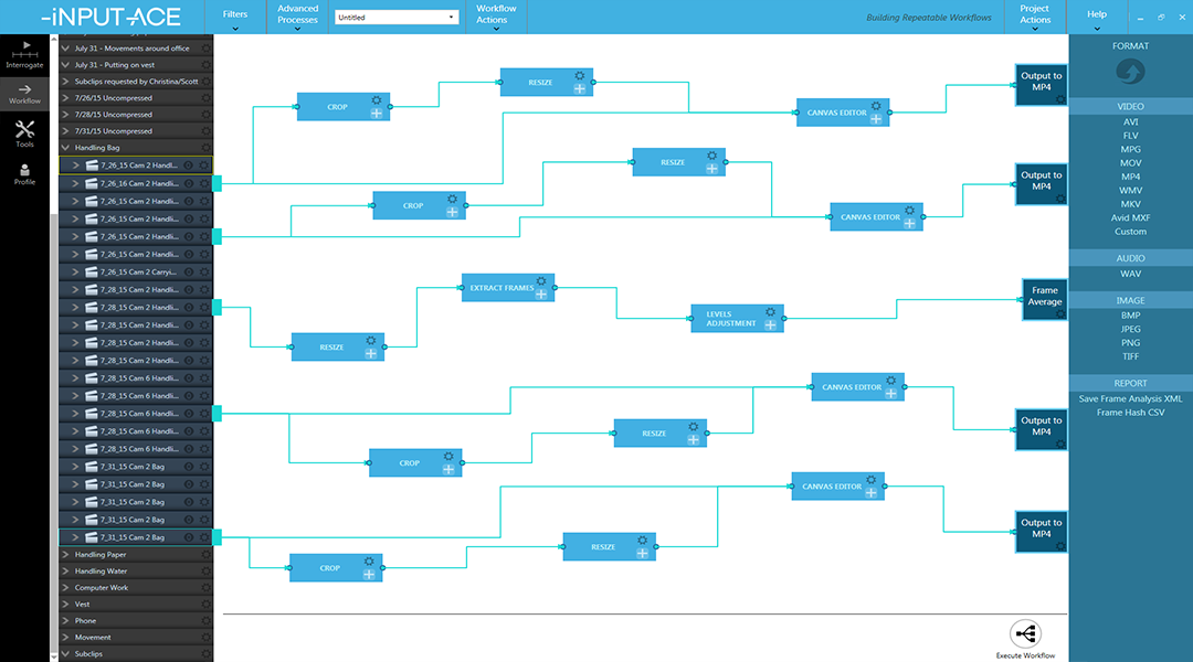 5. Build repeatable workflows
