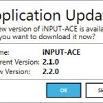 Application Update Prompt