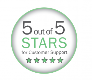 5 Star Customer Support Icon