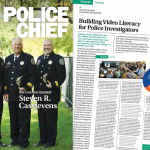 Police Chief Magazine Article on Building Video Literacy Header