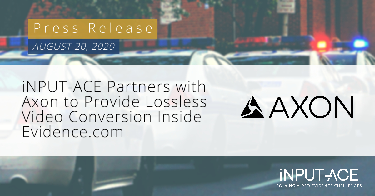 Axon partners with iNPUT-ACE