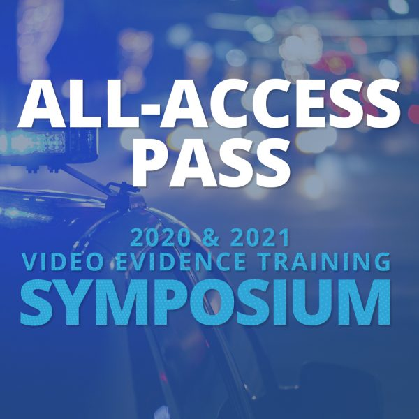 Video evidence training on-demand content