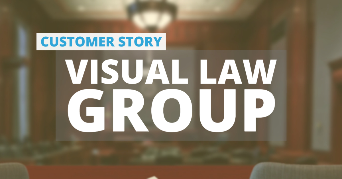 Visual Law Group uses iNPUT-ACE
